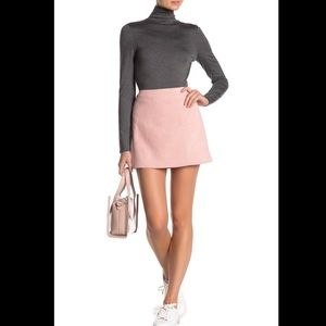 { French Connection } Patty Faux Suede Mini Skirt